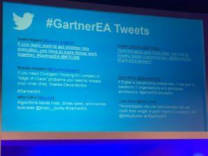 Gartner tweets.